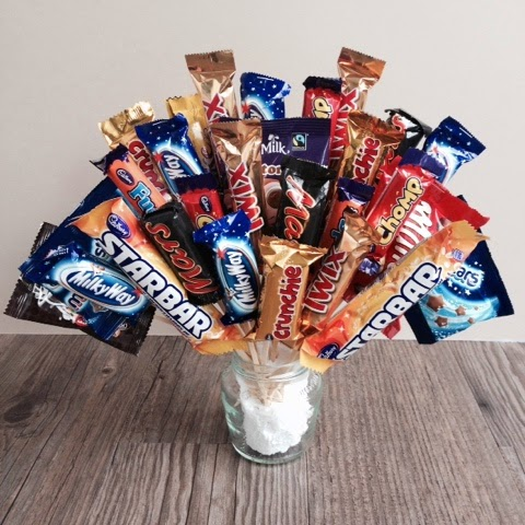 Foodie Quine - Chocolate Bouquet Tutorial, Sweet Bouquet, Candy Bouquet