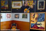 8: El concierto estuvo arropado por una acertada selección de pinturas que aportaron arte, luz y un bellísimo crisol de colores. Un inigualable marco artístico para un concierto singular dedicado a la creación musical femenina.