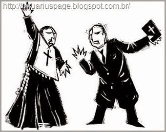 conflitos católicos e protestantes
