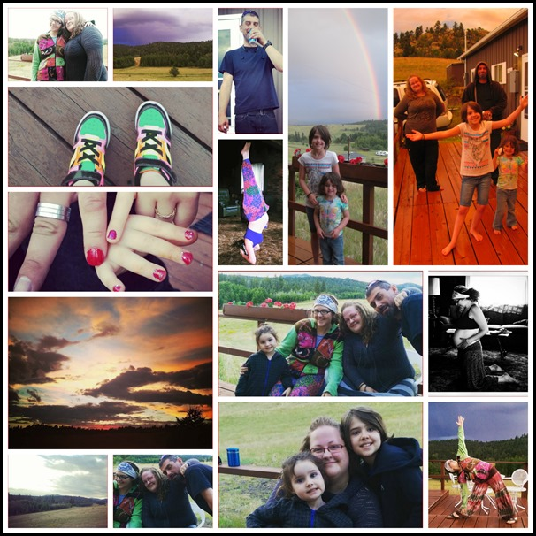 Lauren's Cabin Collage