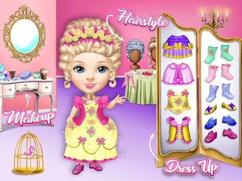 Pretty Little Princess - Dress Up, Hair & Makeup APK screenshot thumbnail 14
