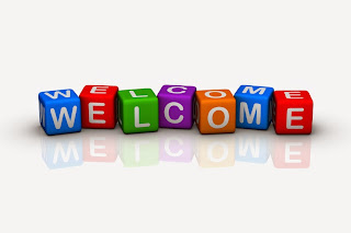 welcome (colorful cubes words series)