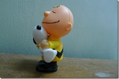 McDonald's happy meal X The Peanuts Movie 2015 toys: Snoopy & Charlie Brown