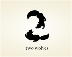 Two Wolves logo