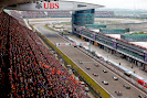 Start of the 2014 Chinese F1 Grand Prix