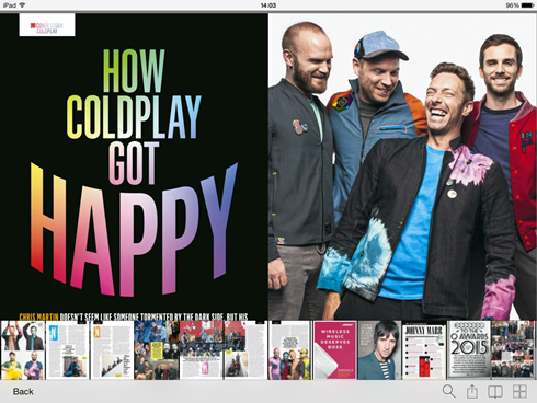 Q Magazine Coldplay 1