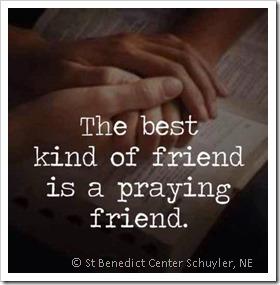 praying-friend