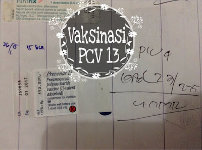 vaksinasi PCV 13