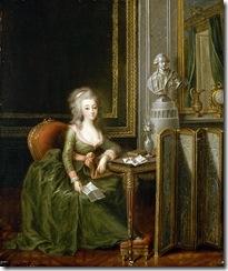 Portrait Of Marie Therese De Savoie, Comtesse D'Artois