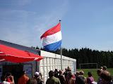 De vlag hangt, de vierdaagse is geopend.