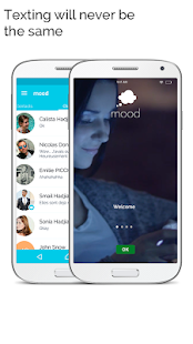 mood messenger - SMS & MMS messaging Screenshot