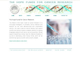 The Hope Funds for Cancer Research