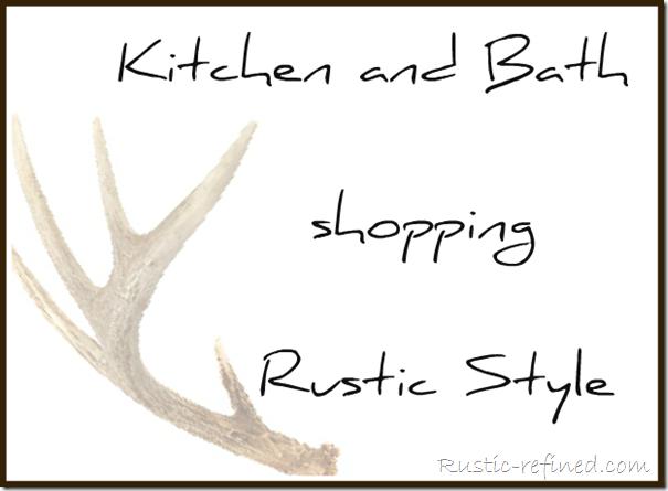 cabin-décor, cabin-decor-ideas, log-cabin-decorating, rustic-cabin-décor, rustic-kitchen-décor, rustic-bath-décor