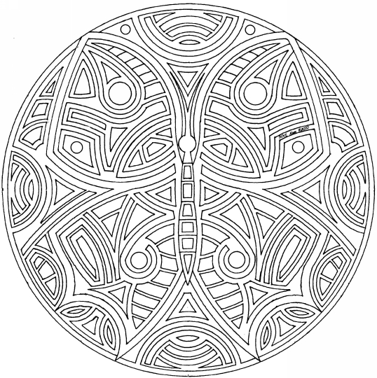 Welcome to 102 free Mandalas to download