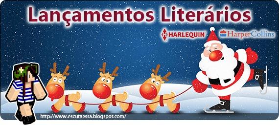 Lançamentos Literários - Harlequin dezembro 2015