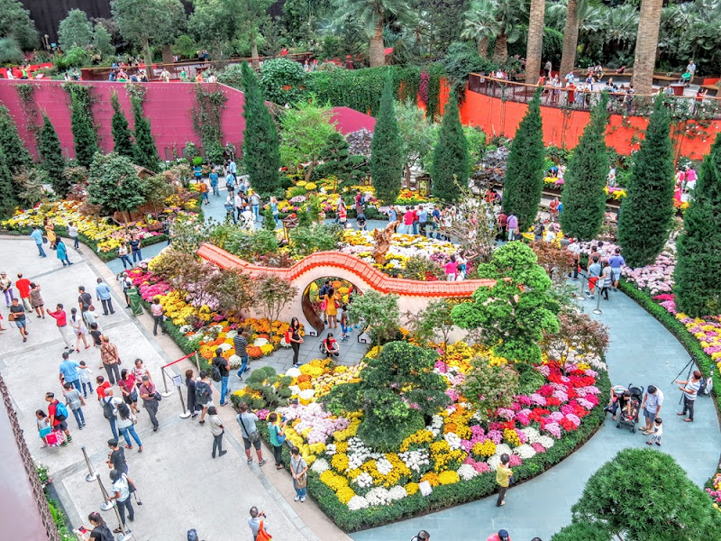 Garden By The Bay Flower Festival the j babies: gardensthe bay mid-autumn festival 2015