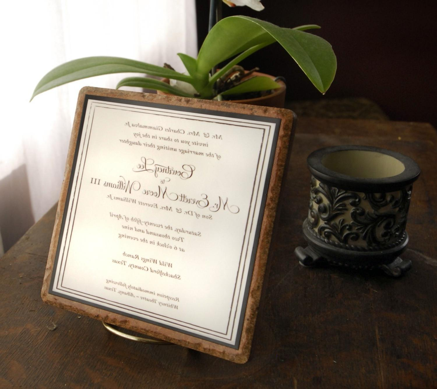 Wedding Invitation set in