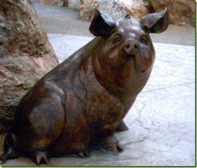 CVPD-Pig-Statue1