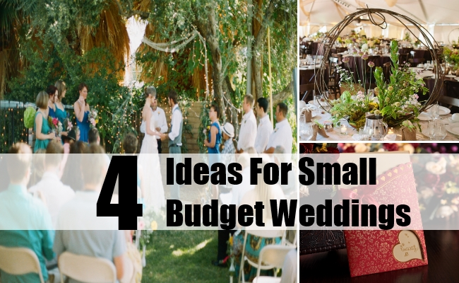 The Smaller The Better: Small And Intimate Weddings ~ Just Budget ...