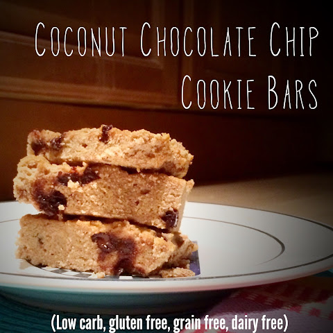 Coconut Chocolate Chip Cookie Bars
