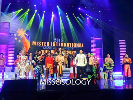 Mister International 2015 candidates with 2014 winner Neil Perez (FB Missosology)