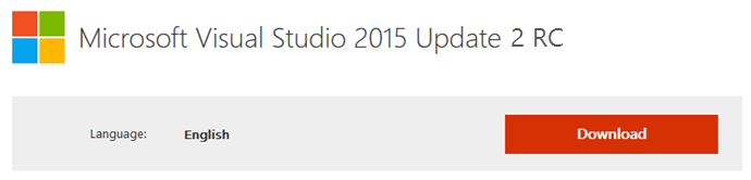 Download Visual Studio 2015 Update 2 - RC (www.kunal-chowdhury.com)