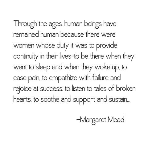 human beings -- margaret mead
