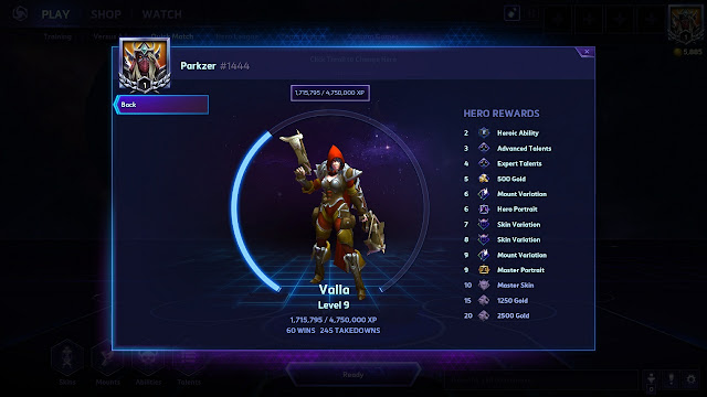 Parkzer - Heroes of the Storm - Valla
