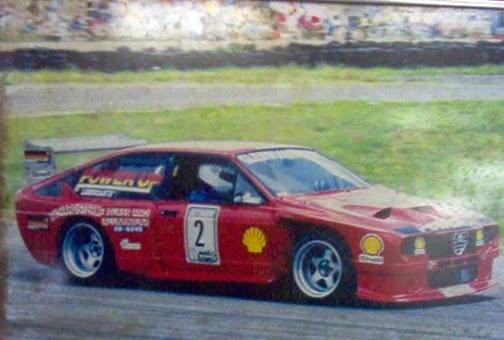 Alfa GTV6 Glenwood Motors 1992 S Africa