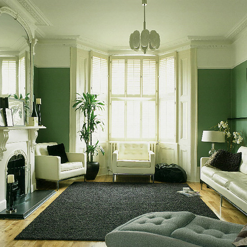 Farbgestaltung - 21 Tipps für harmonisch grüne Wohnräume
