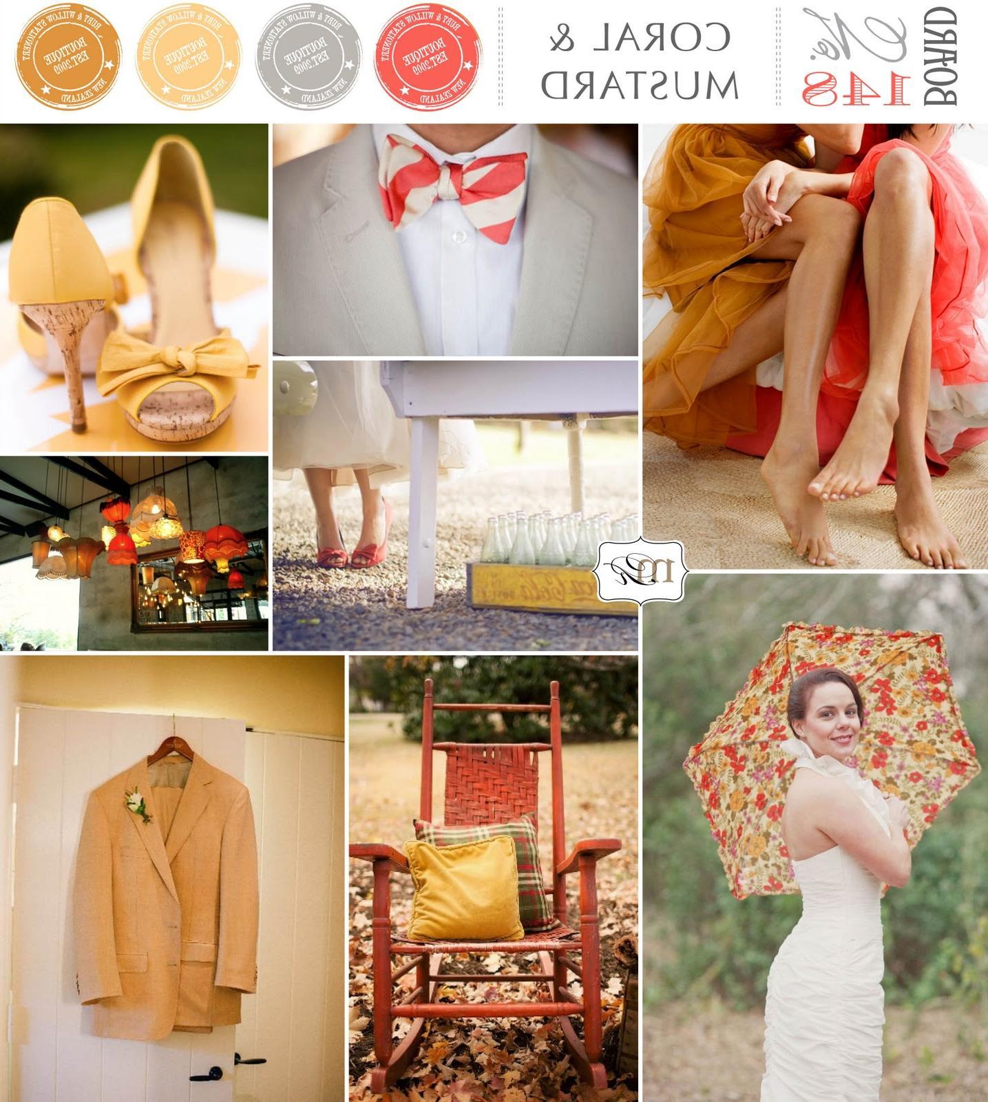 Coral & Mustard dresses