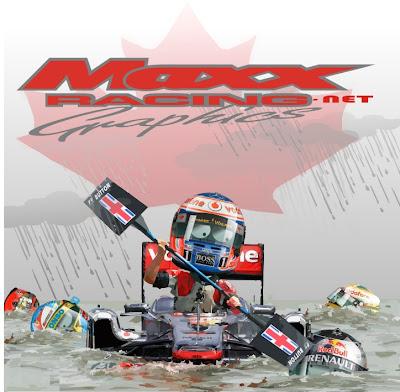 Дженсон Баттон побеждает за McLaren на Гран-при Канады 2011 Maxx Racing make roads safe