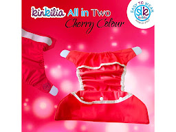 Pannolini lavabili All in 2 kit Cherry