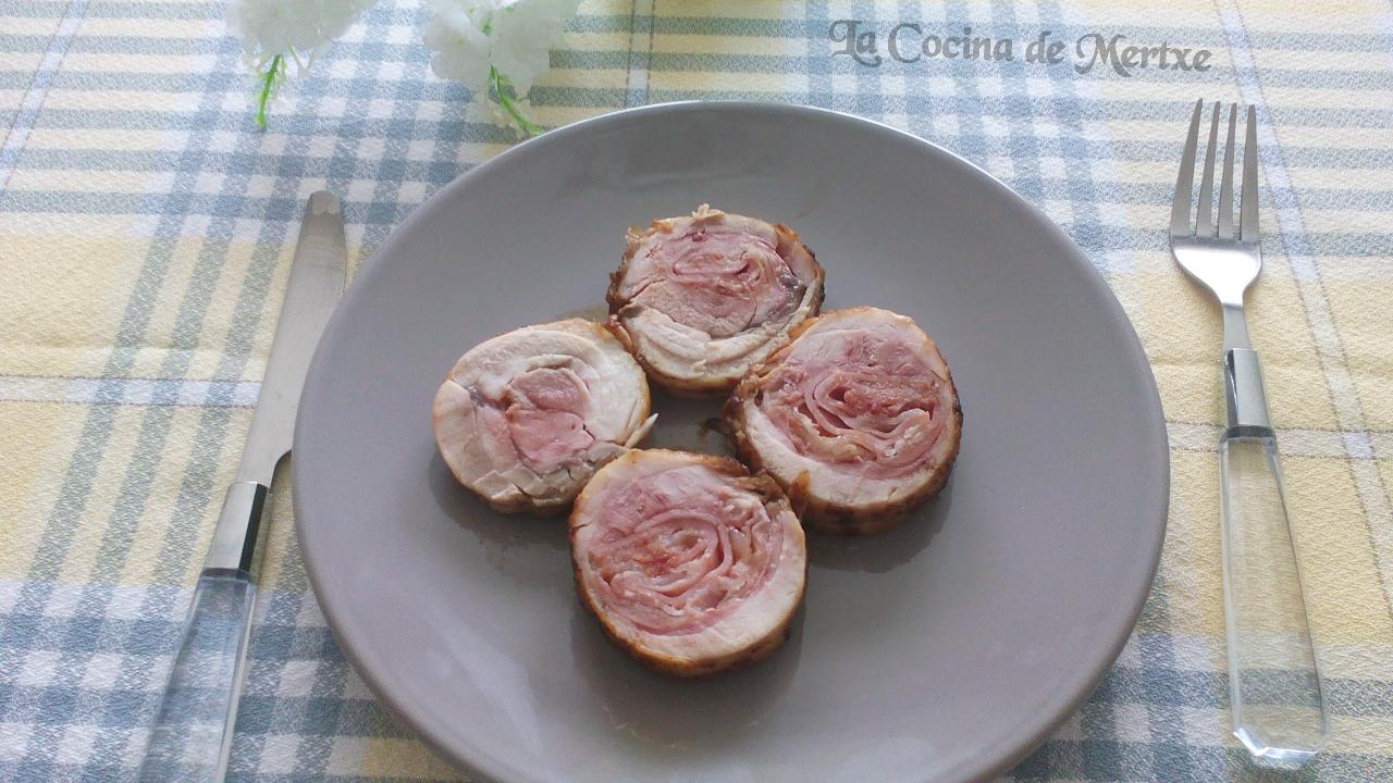 La cocina de mertxe roti de pollo y bac n al co ac for Cocina 9 ariel rodriguez palacios pollo relleno
