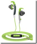 Sennheiser in ear sports headphones