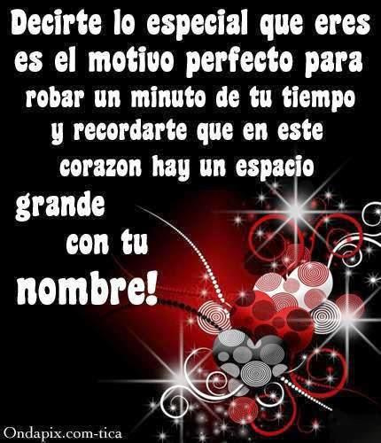 Imagenes De Amor Para Alguien Especial - tarjetas tiernas para una persona especial Taringa!