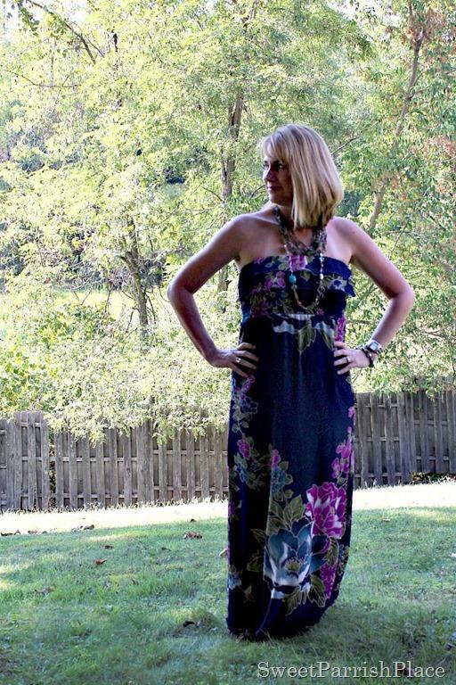 Floral maxi dress2