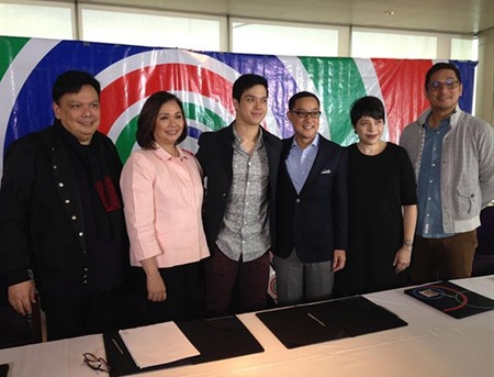Elmo Magalona signs with ABS-CBN