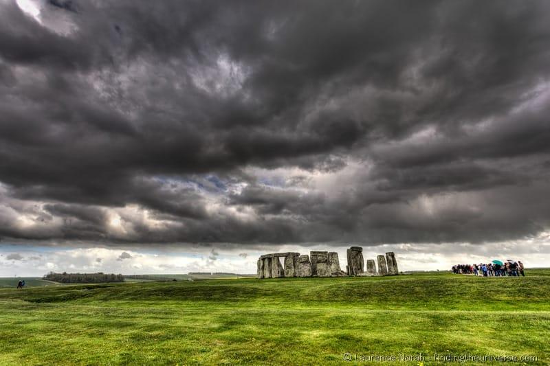 Stonehenge clouds