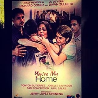 You're My Home poster