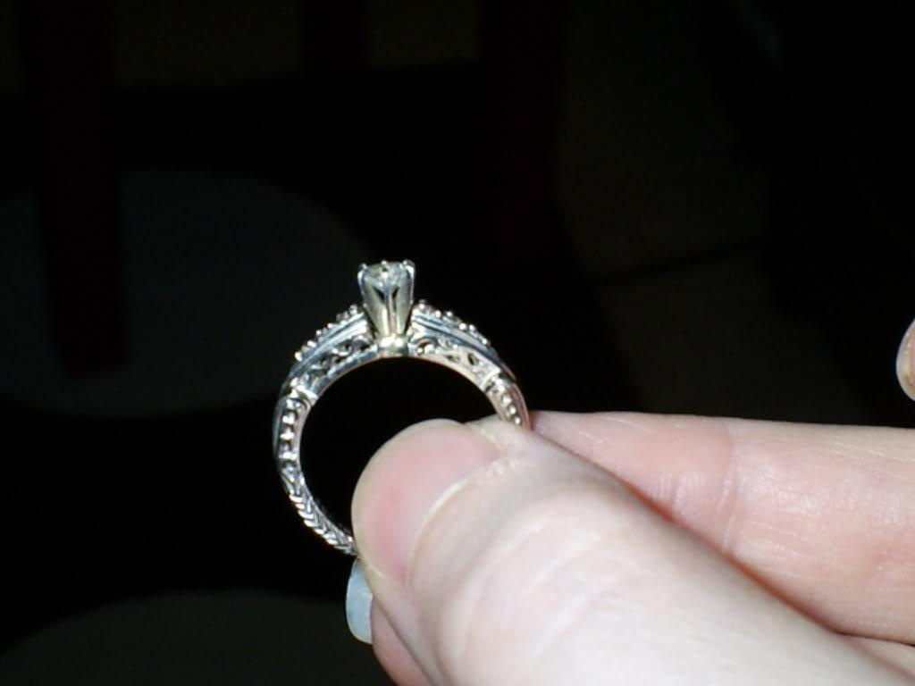 Share Your Alternative Engagement Rings Wedding Bands Here.