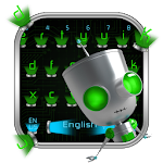 Hologram Robot Keyboard Theme Icon