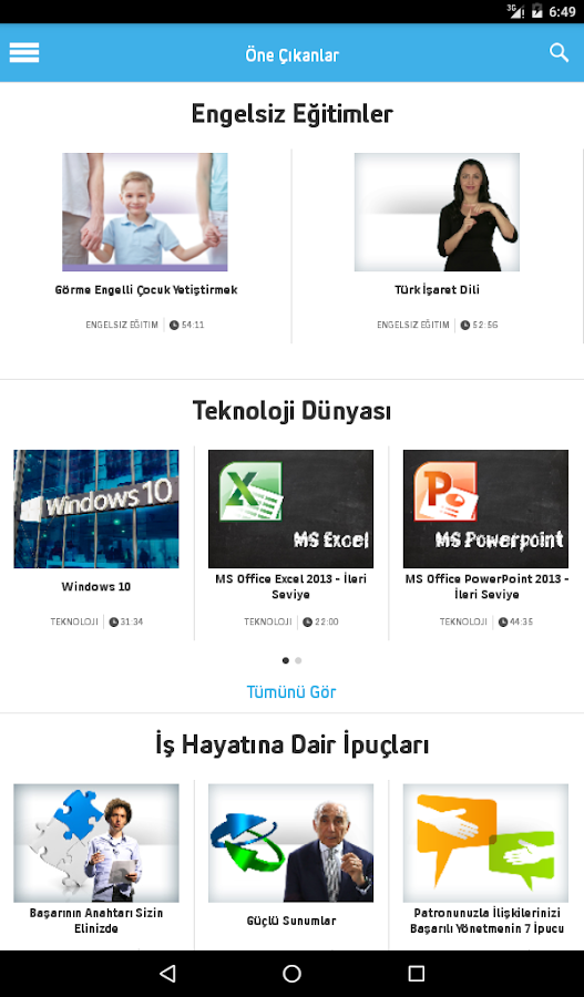 Turkcell Akademi Screenshot 12