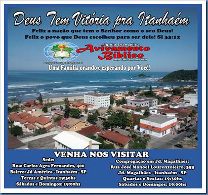 Banner Itanhaém