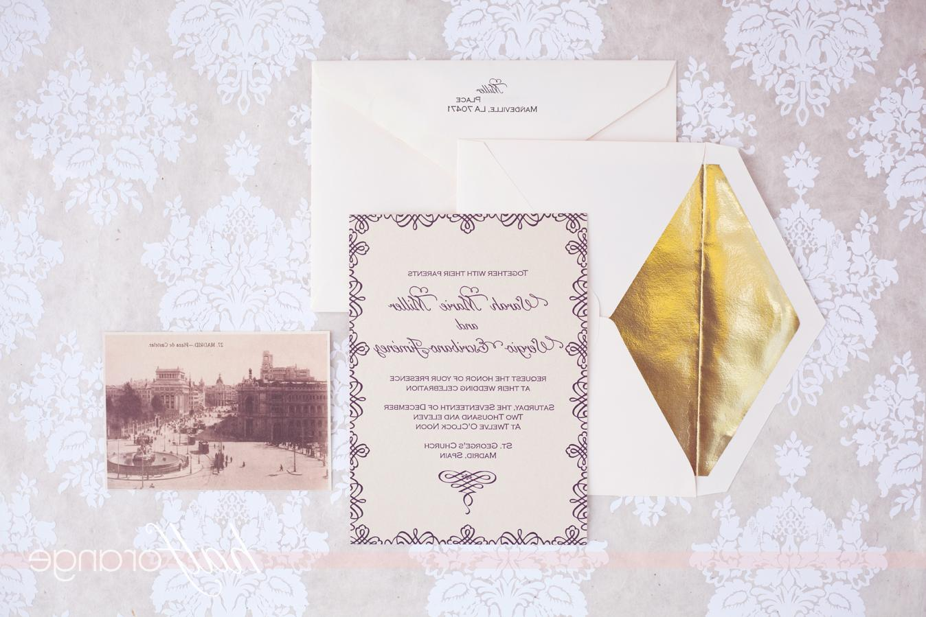 wedding invitations with rsvp