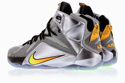 LeBron James Wears 'Cool Grey' Nike LeBron 12 PE | Sole Collector