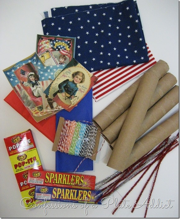 CONFESSIONS OF A PLATE ADDICT Country Living Inspired Vintage Firecracker Party Favors Supplies