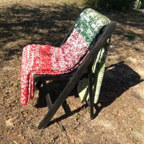 crochet christmas afghan, stash busting, yarn stash, yarn, diy, handmade, blanket