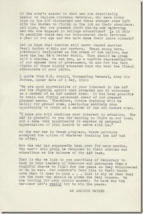Anonymous Letter 11_19_1945 page 2 typed