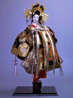exposição de 'Bonecos do Japão'